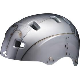 KED Risco Sykkelhjelmer Grå/sølv